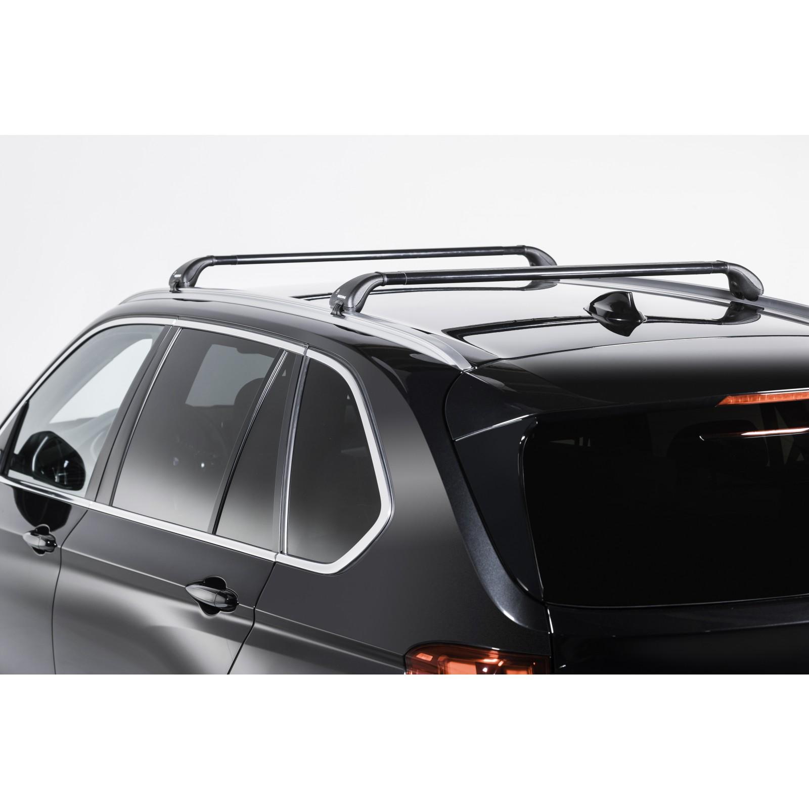 barres de toit en acier pour toyota verso. Black Bedroom Furniture Sets. Home Design Ideas