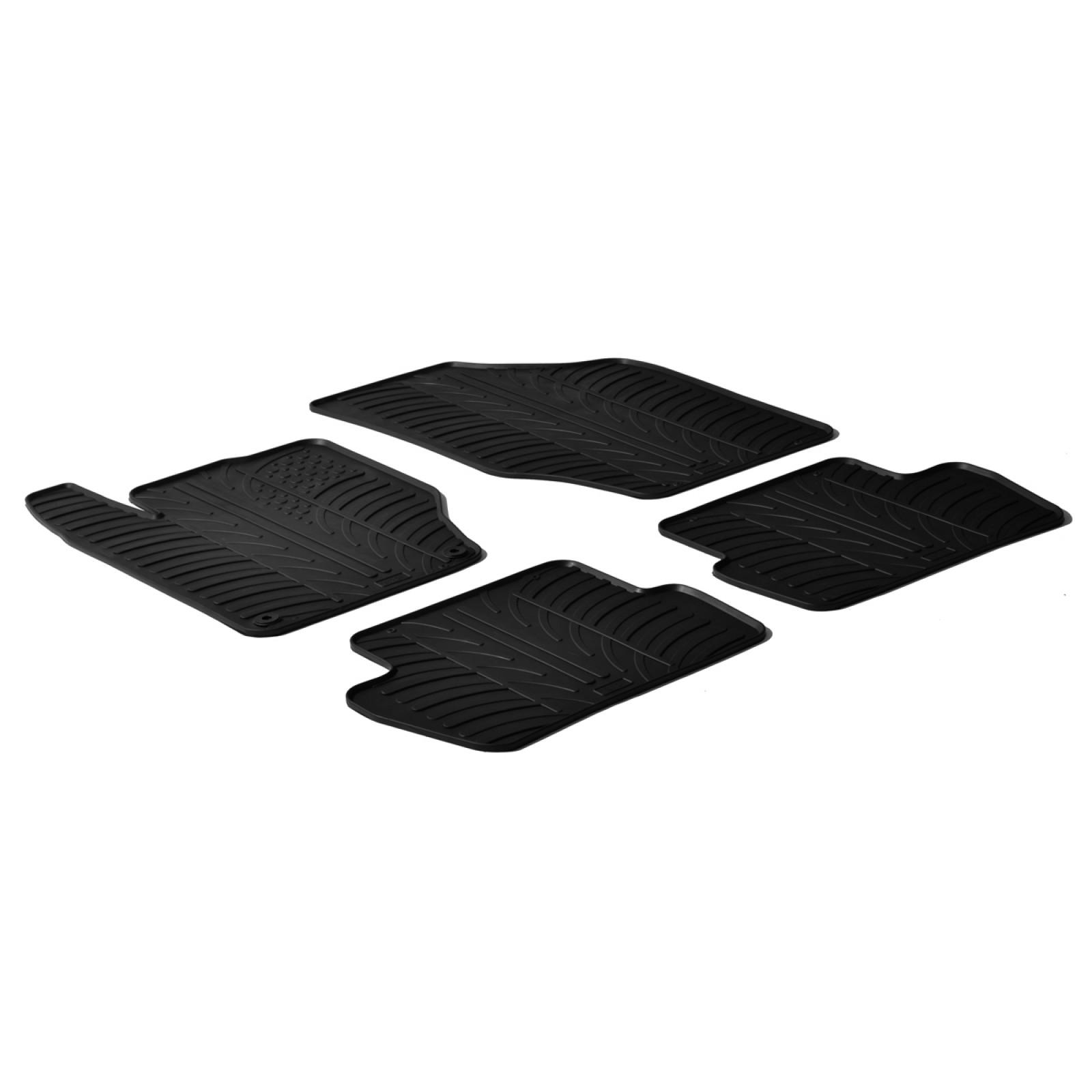 tapis en caoutchouc pour citroen c4 ds4 5 portes. Black Bedroom Furniture Sets. Home Design Ideas