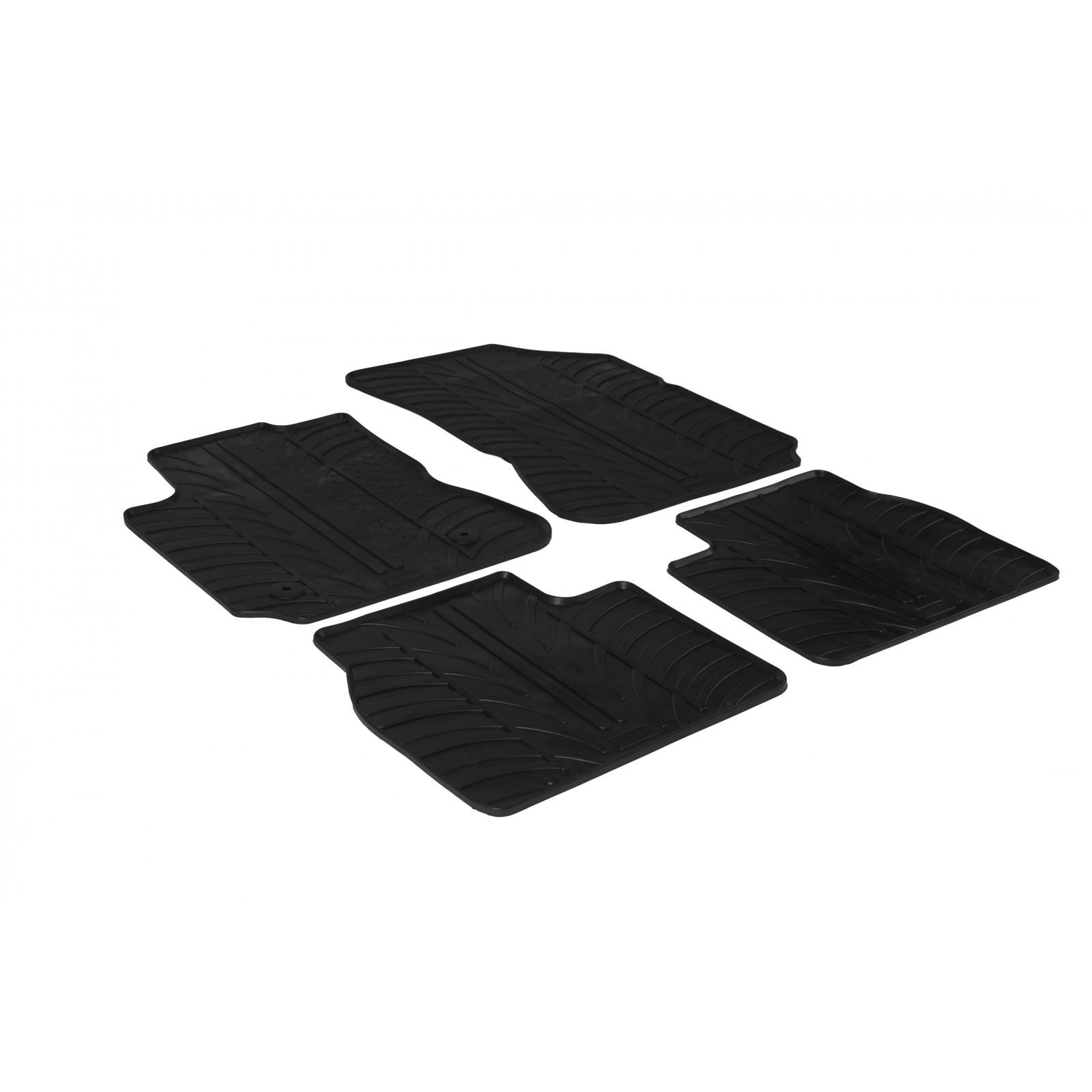 tapis en caoutchouc pour citroen c4 cactus. Black Bedroom Furniture Sets. Home Design Ideas