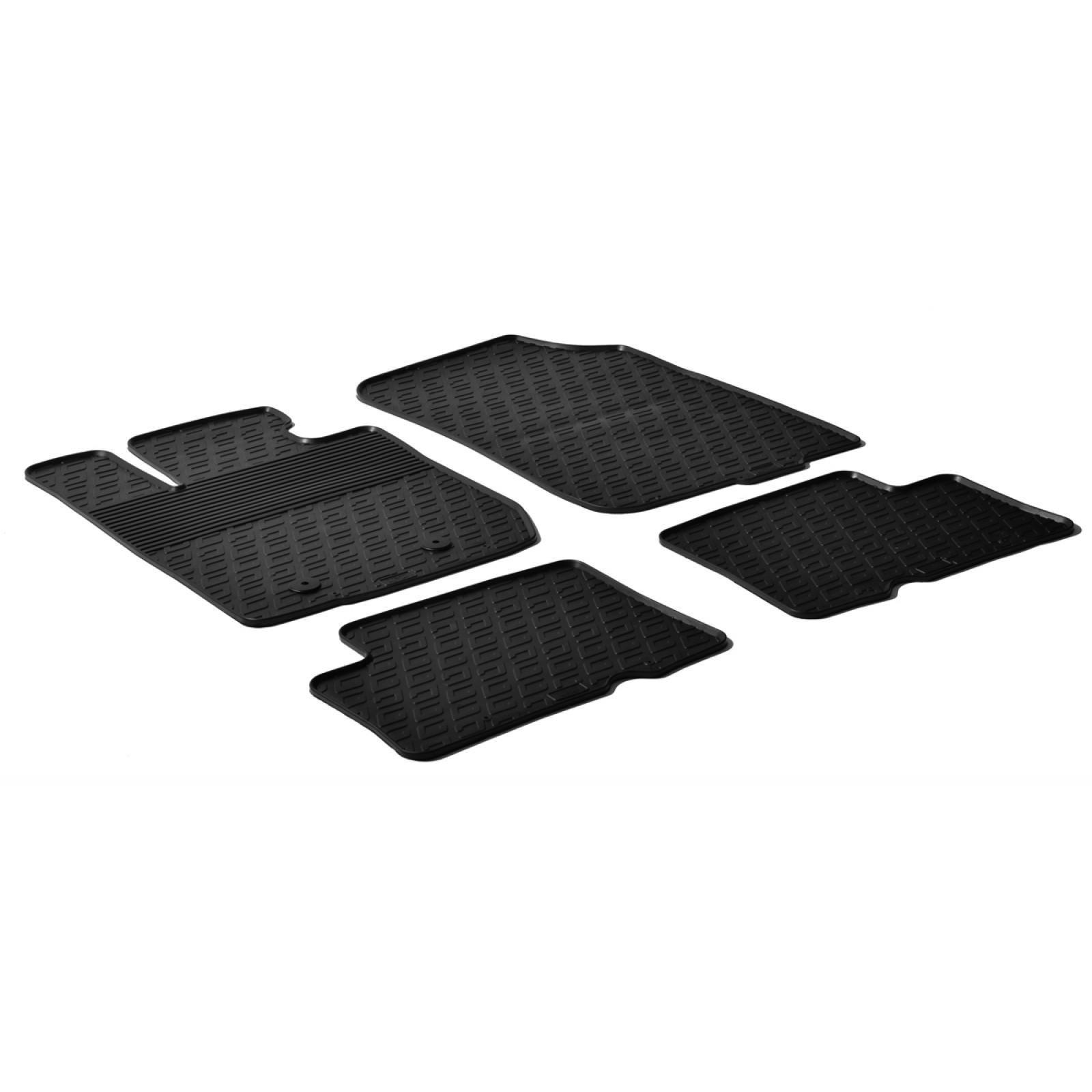 tapis en caoutchouc pour dacia duster 4x4 dacia tapis en caoutchouc sur mesure offre sur. Black Bedroom Furniture Sets. Home Design Ideas