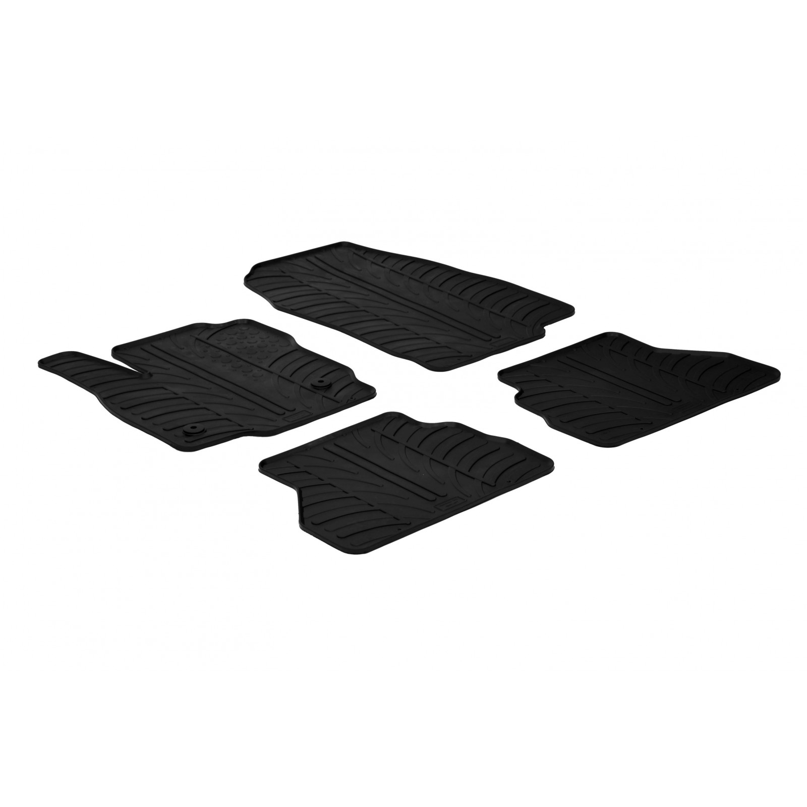tapis en caoutchouc pour ford b max. Black Bedroom Furniture Sets. Home Design Ideas