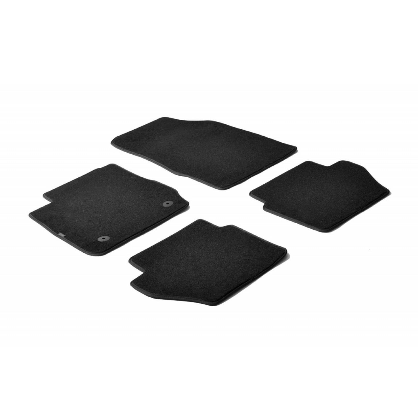 tapis en textile pour ford fiesta. Black Bedroom Furniture Sets. Home Design Ideas