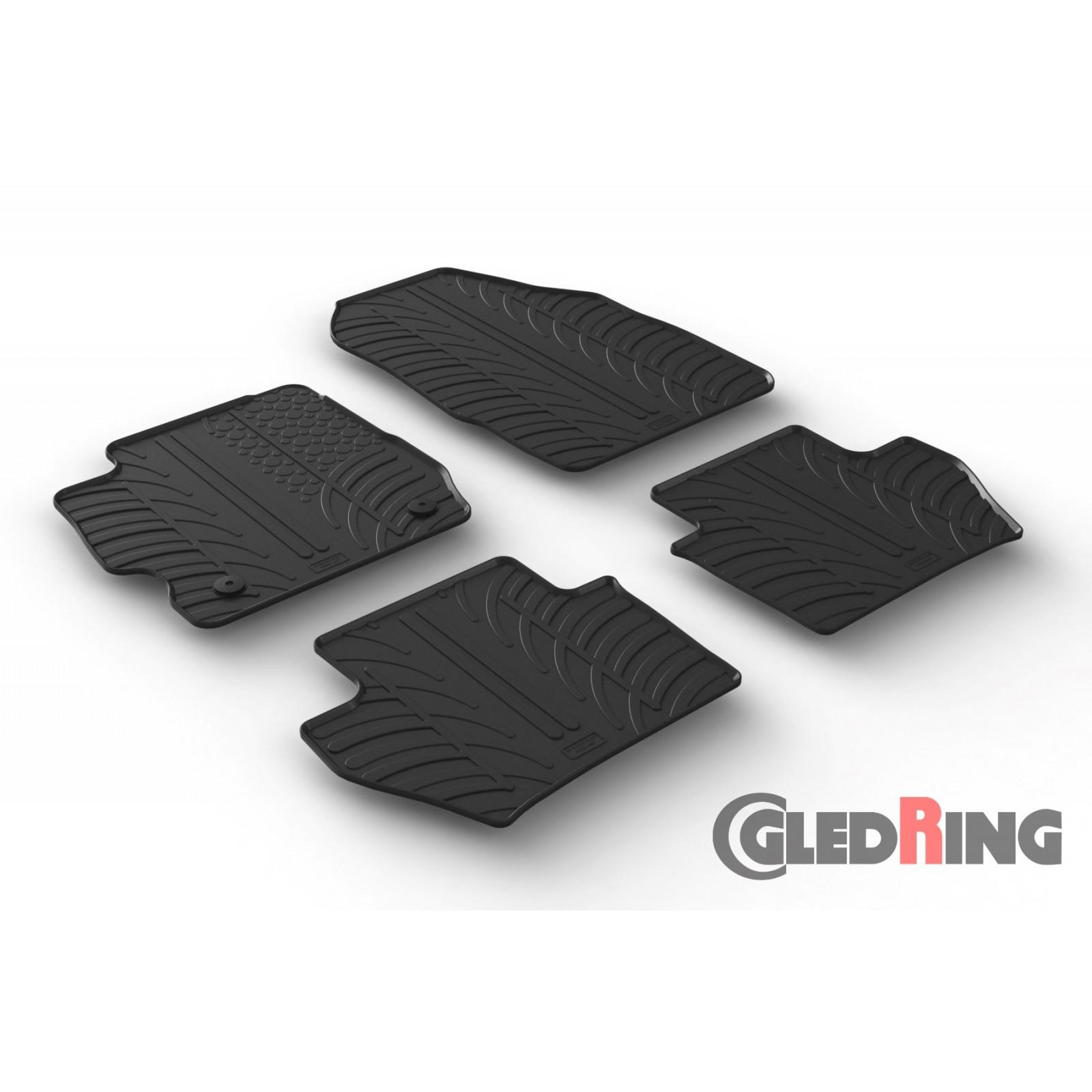 tapis en caoutchouc pour ford ka manual 5 portes. Black Bedroom Furniture Sets. Home Design Ideas