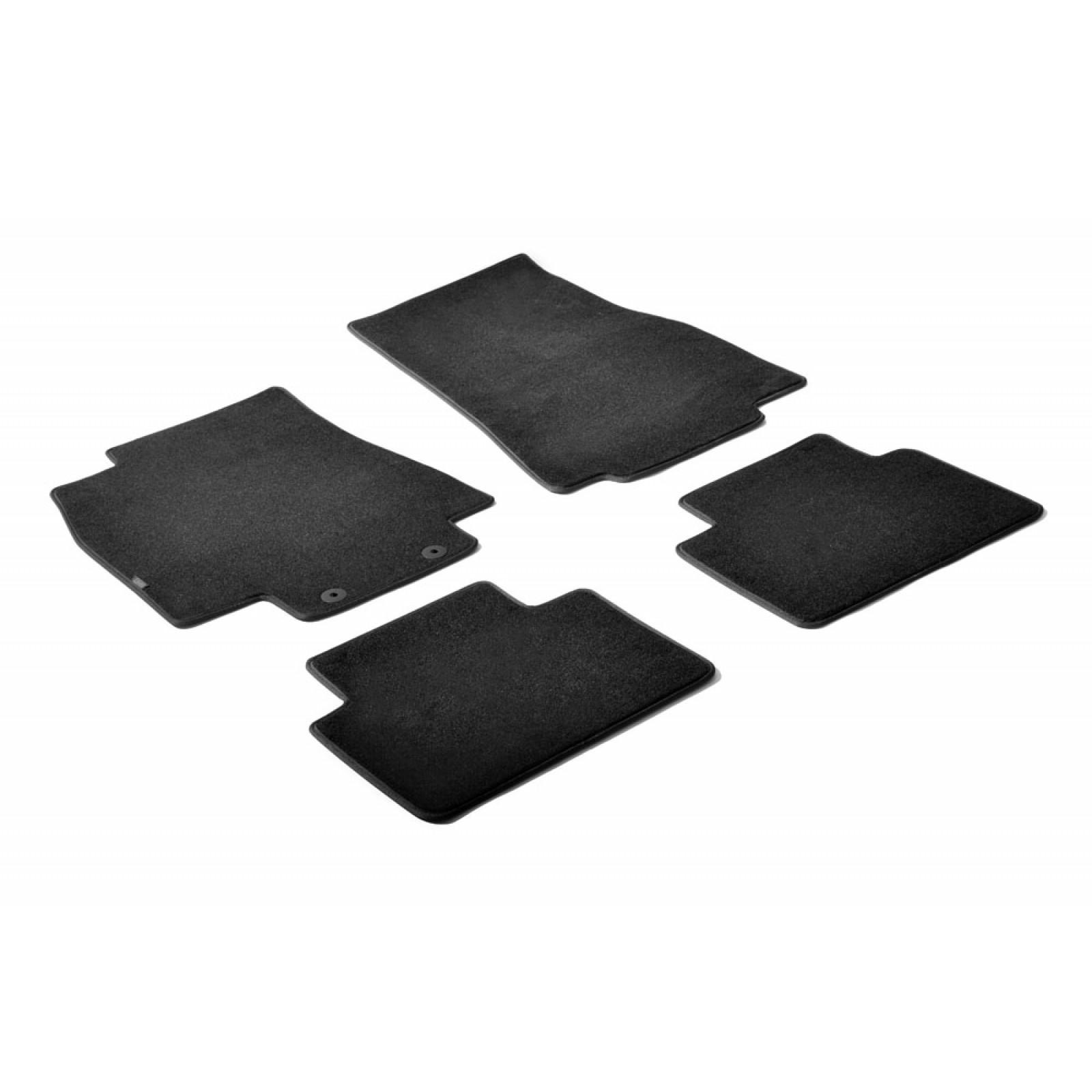 tapis en textile pour mercedes classe a w169. Black Bedroom Furniture Sets. Home Design Ideas