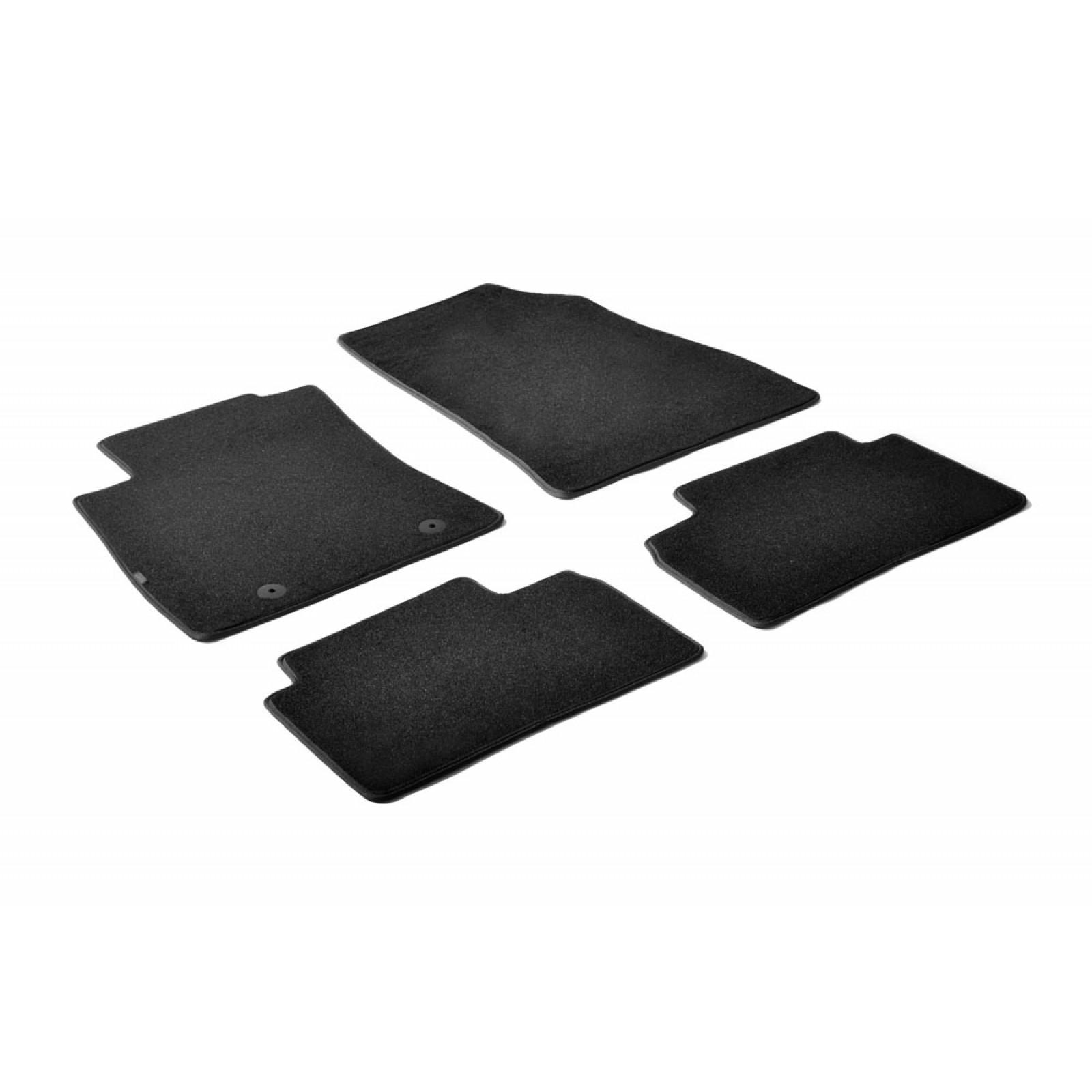 tapis en textile pour nissan juke. Black Bedroom Furniture Sets. Home Design Ideas