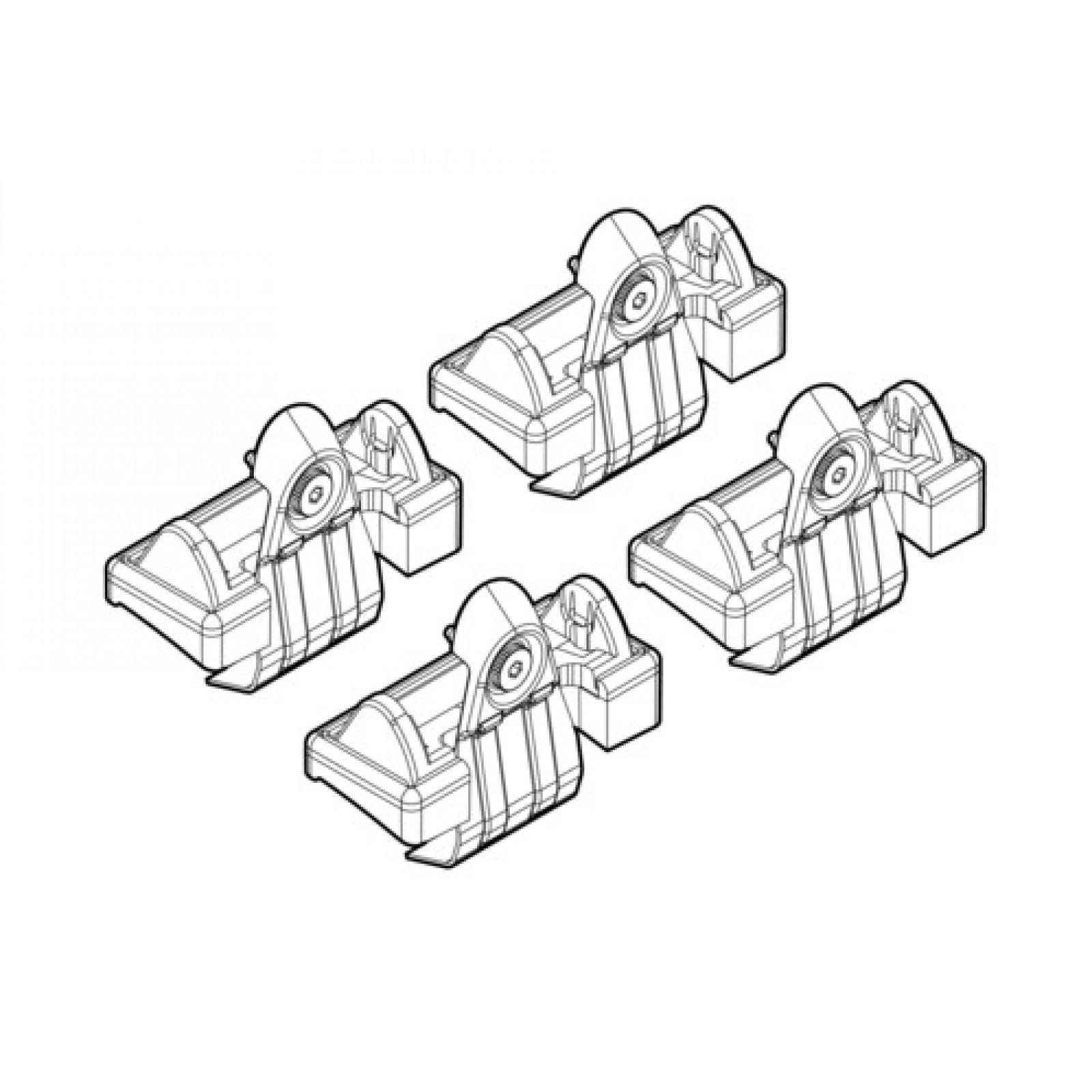 barres de toit pour volkswagen golf vi 5 portes. Black Bedroom Furniture Sets. Home Design Ideas