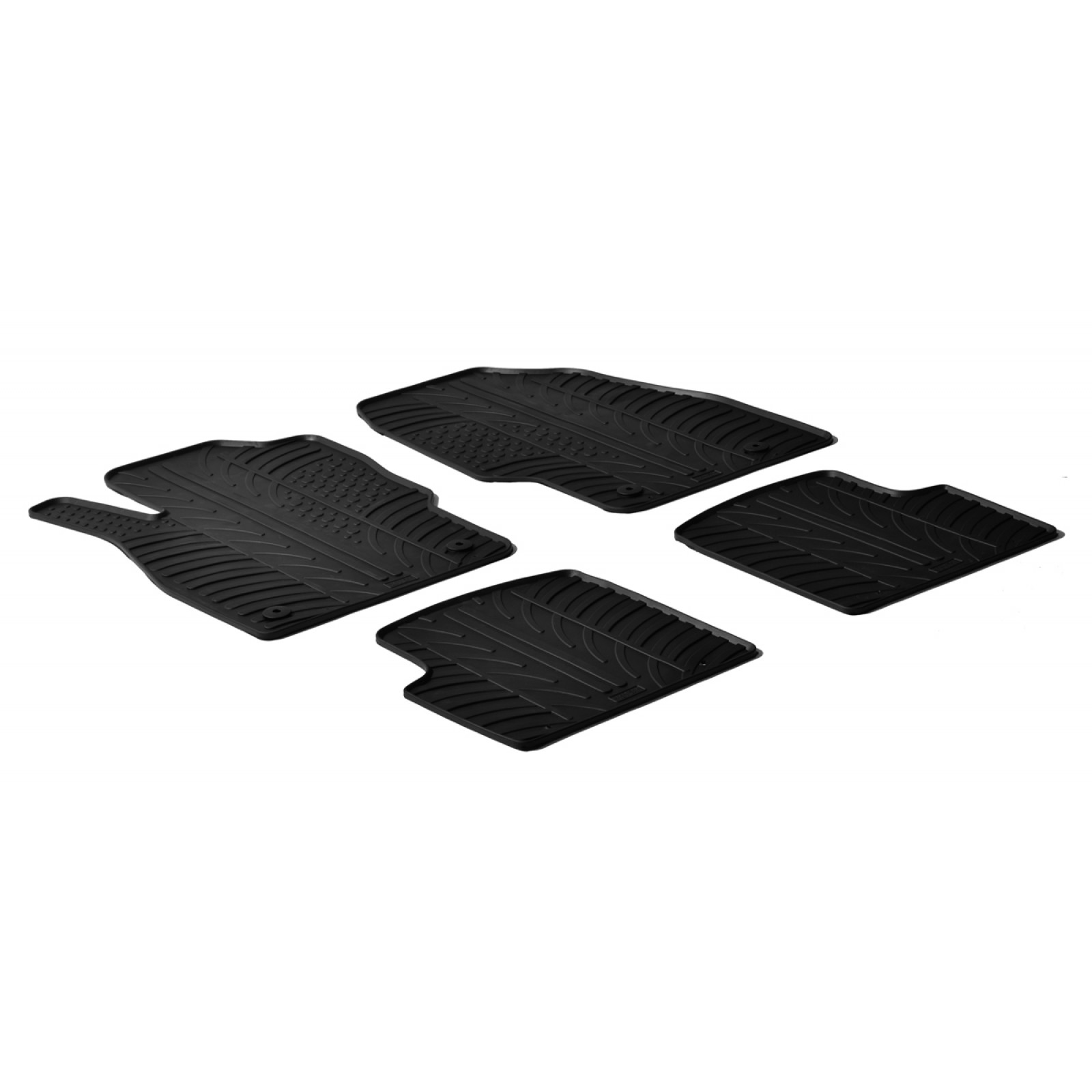 tapis en caoutchouc pour opel corsa d. Black Bedroom Furniture Sets. Home Design Ideas