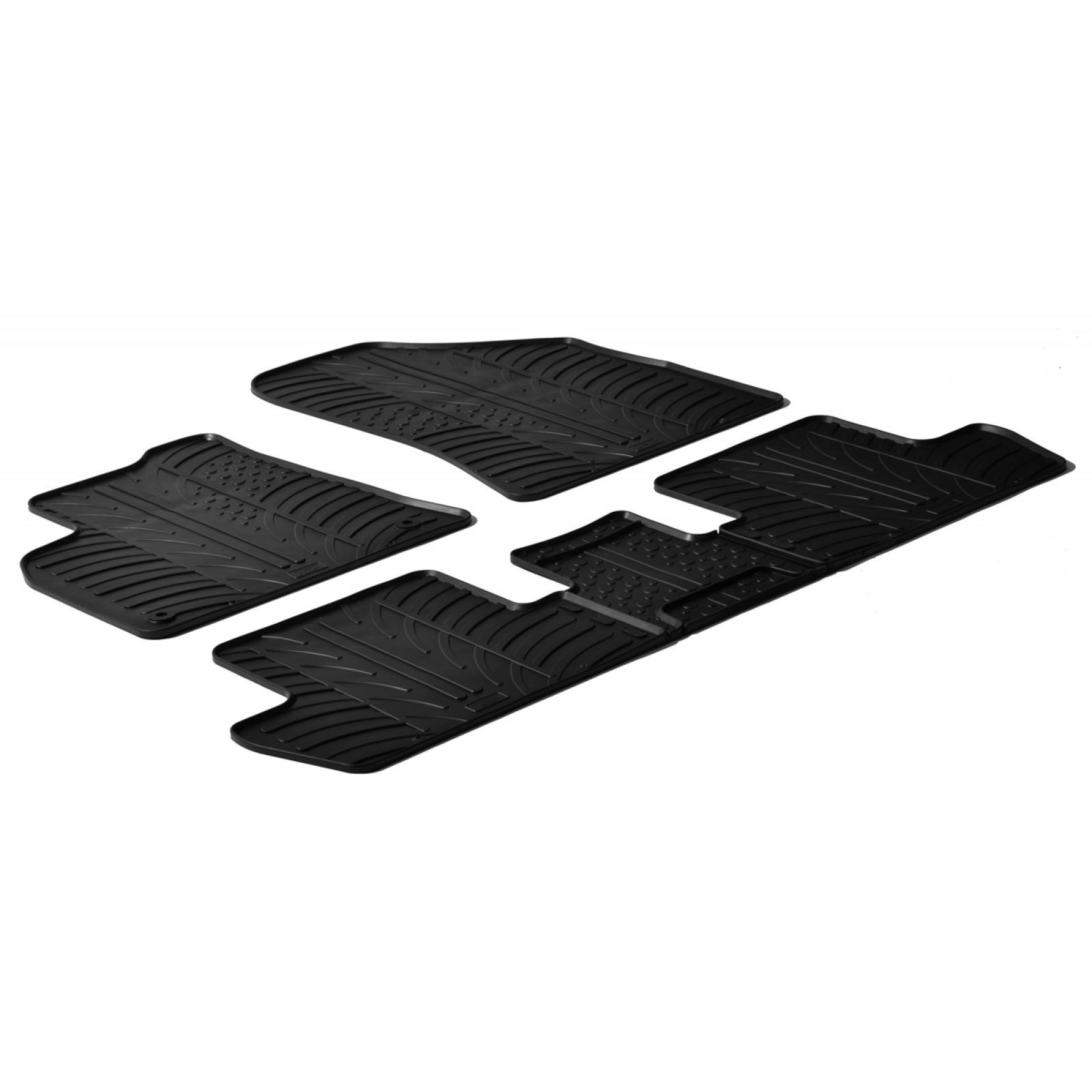 tapis en caoutchouc pour peugeot 5008. Black Bedroom Furniture Sets. Home Design Ideas