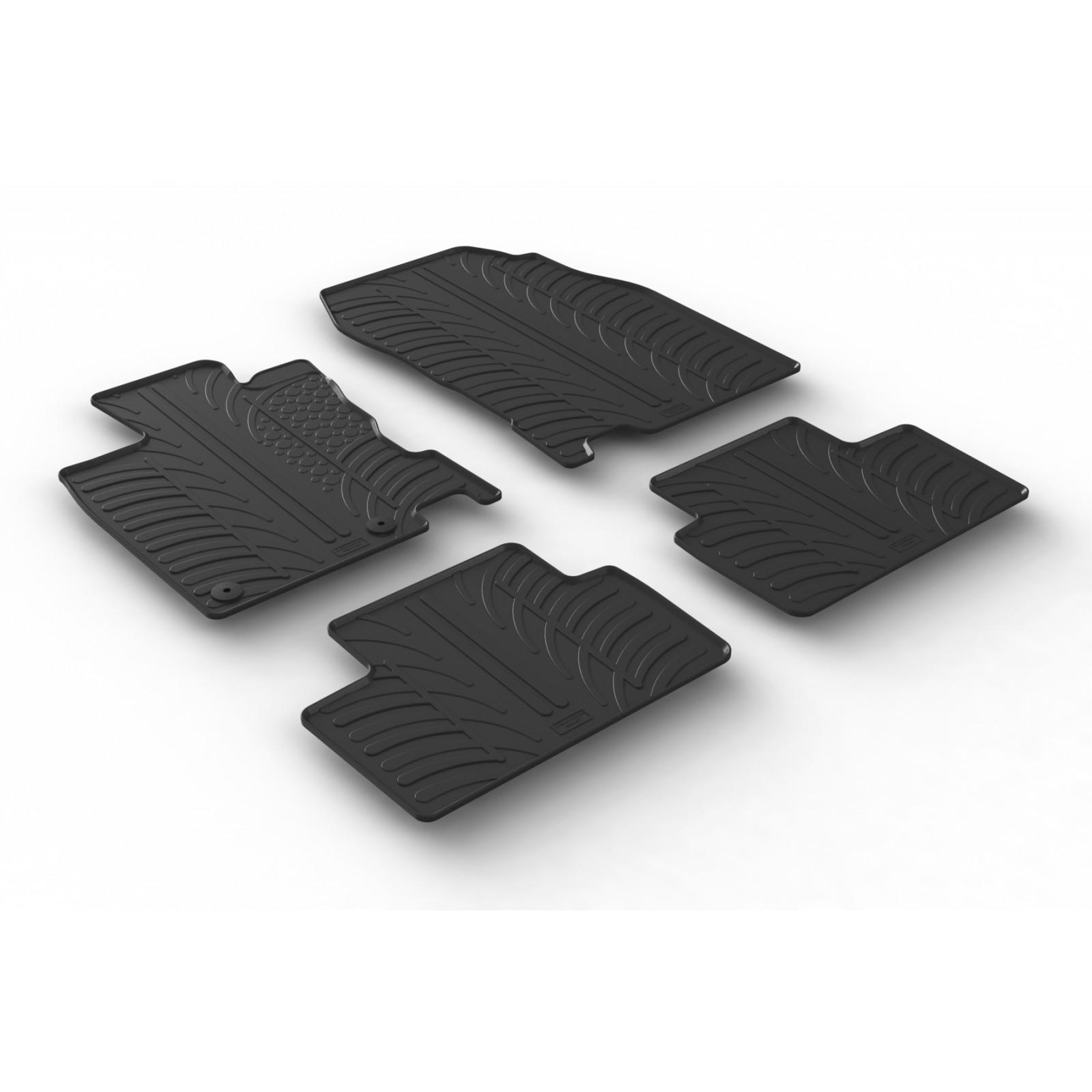 tapis en caoutchouc pour renault kadjar renault tapis en caoutchouc sur mesure offre sur. Black Bedroom Furniture Sets. Home Design Ideas
