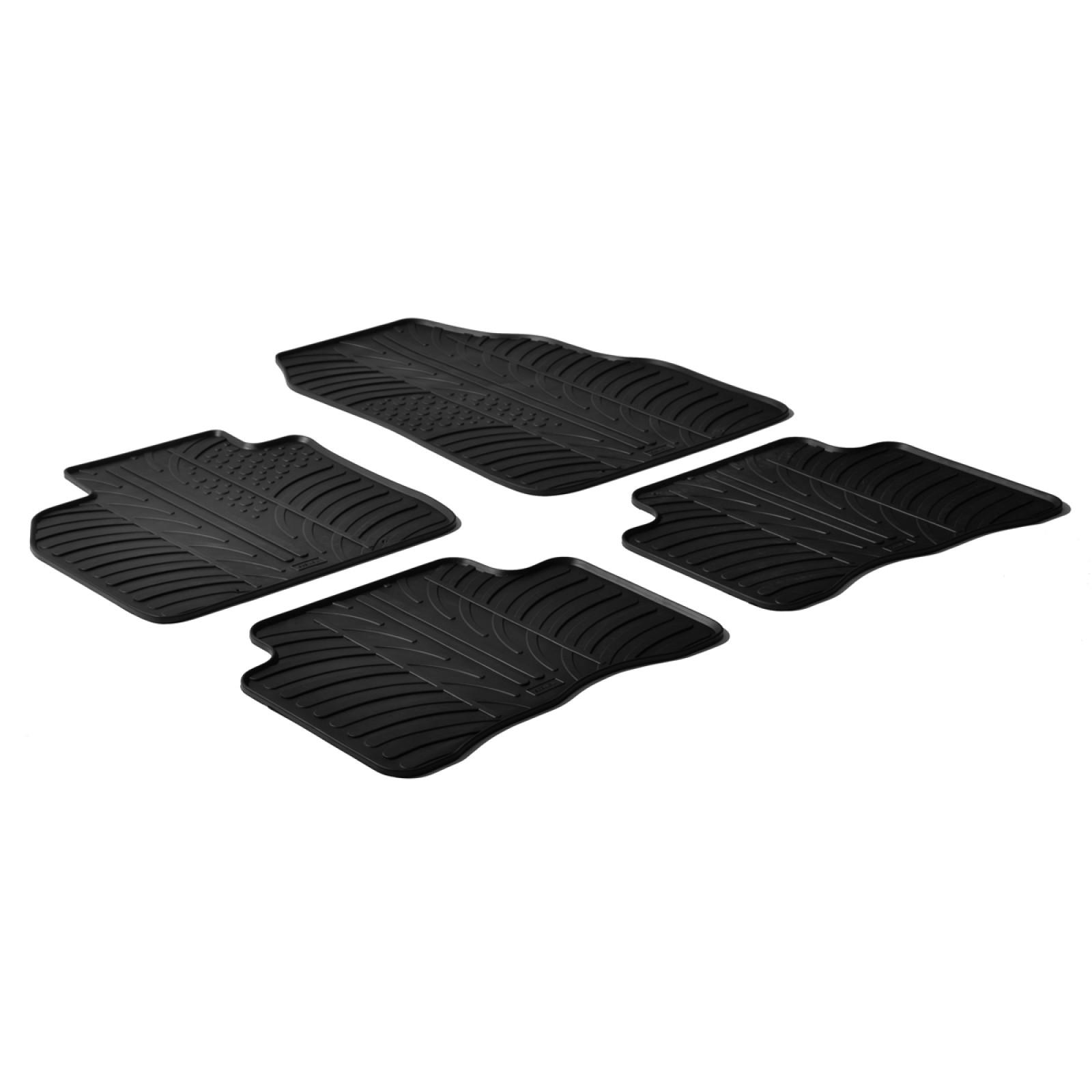 tapis en caoutchouc pour renault megane scenic ii. Black Bedroom Furniture Sets. Home Design Ideas
