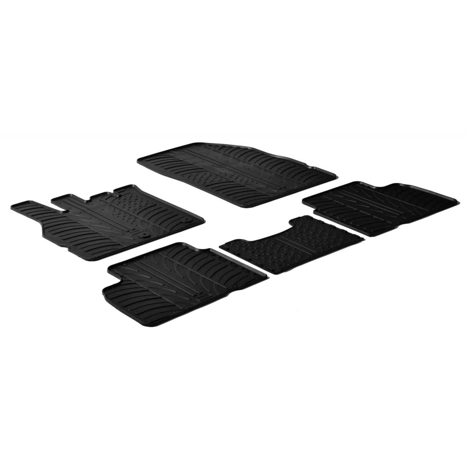 tapis en caoutchouc pour renault megane scenic iii. Black Bedroom Furniture Sets. Home Design Ideas