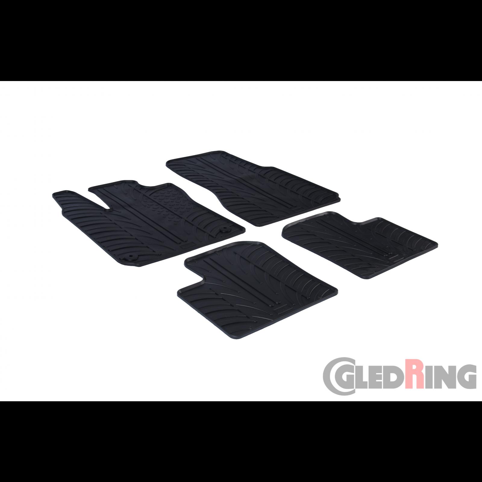 tapis en caoutchouc pour renault twingo. Black Bedroom Furniture Sets. Home Design Ideas