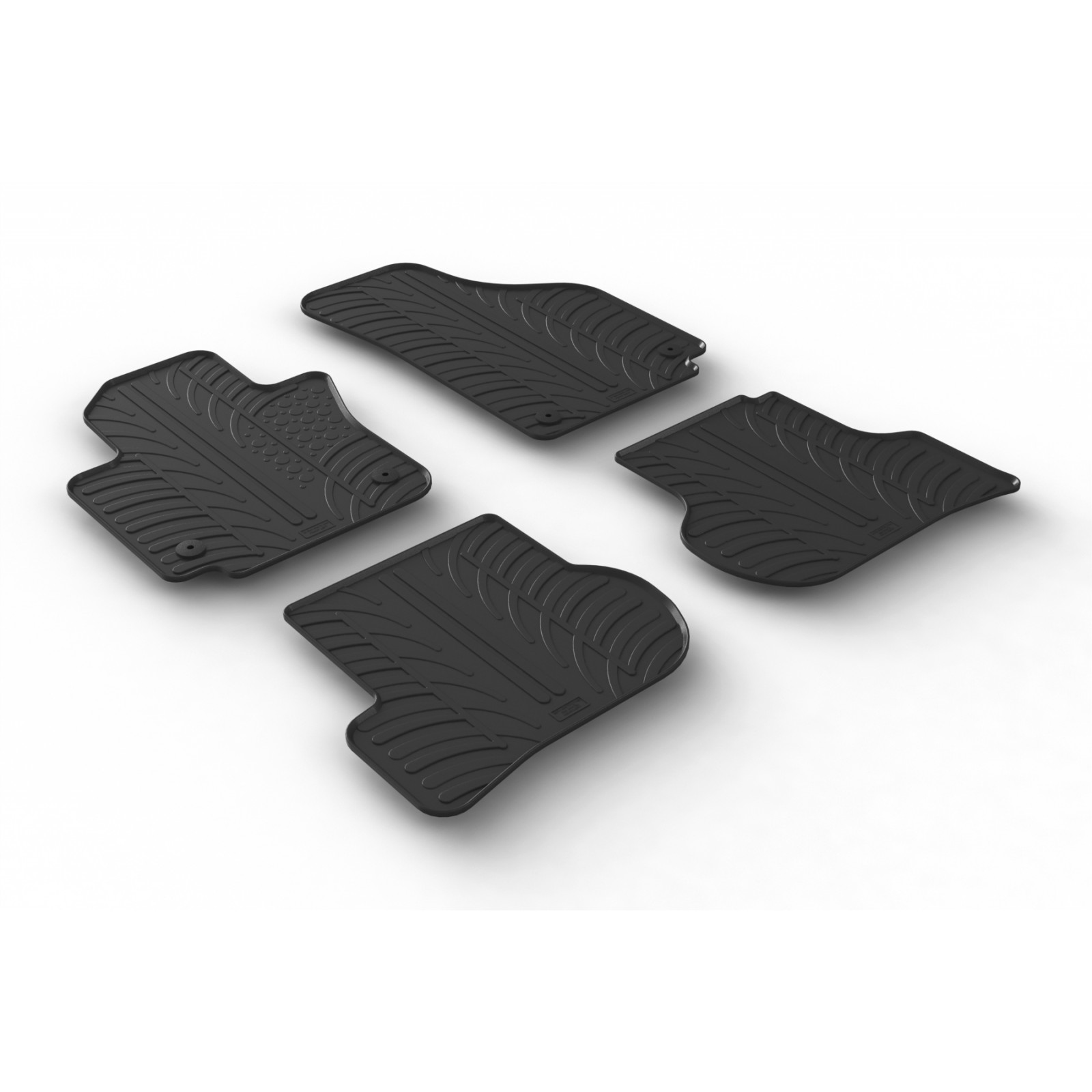 tapis en caoutchouc pour volkswagen golf vi plus. Black Bedroom Furniture Sets. Home Design Ideas