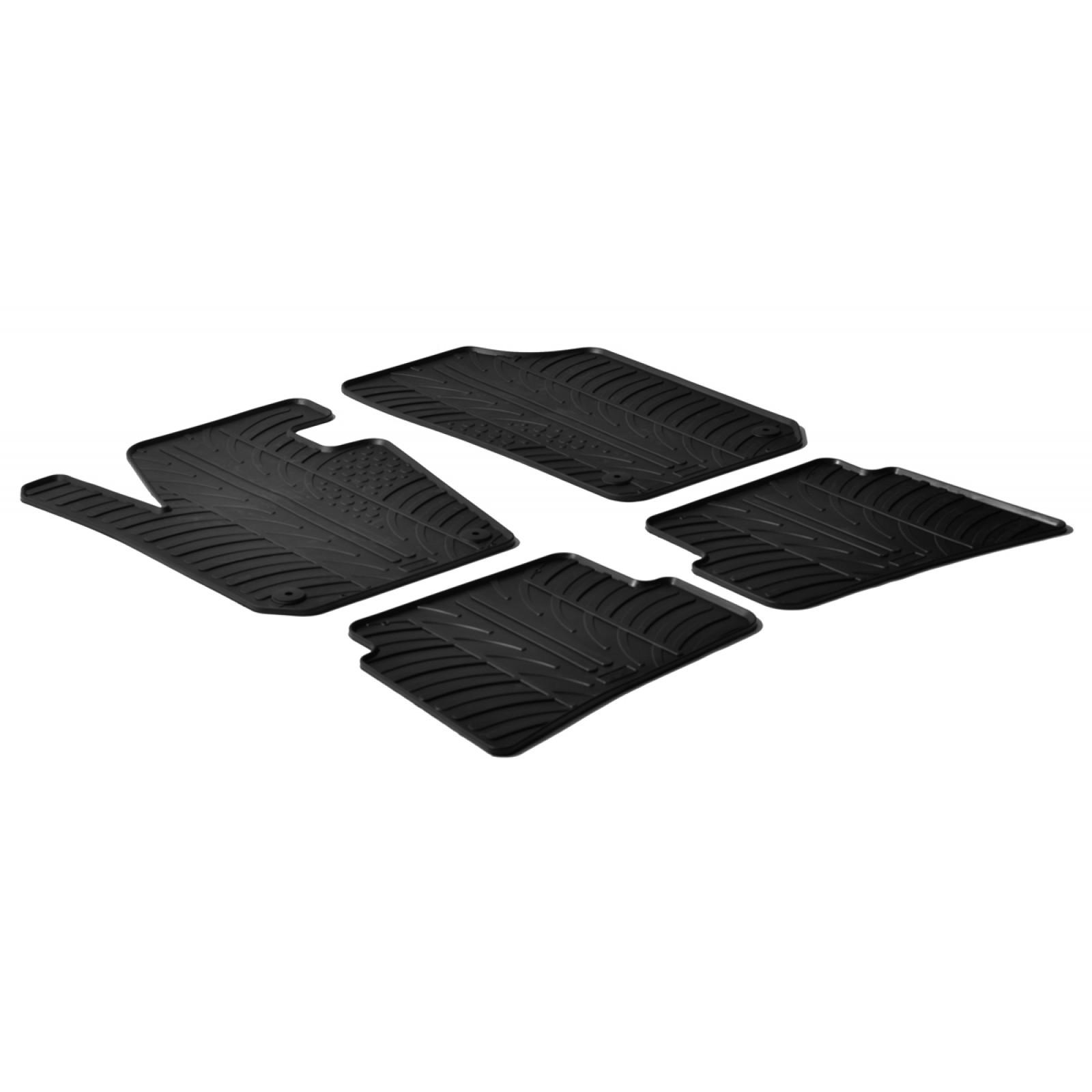 tapis en caoutchouc pour seat ibiza. Black Bedroom Furniture Sets. Home Design Ideas