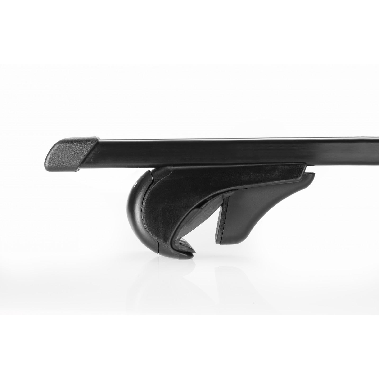 barres de toit en acier pour mercedes classe glk 127cm. Black Bedroom Furniture Sets. Home Design Ideas