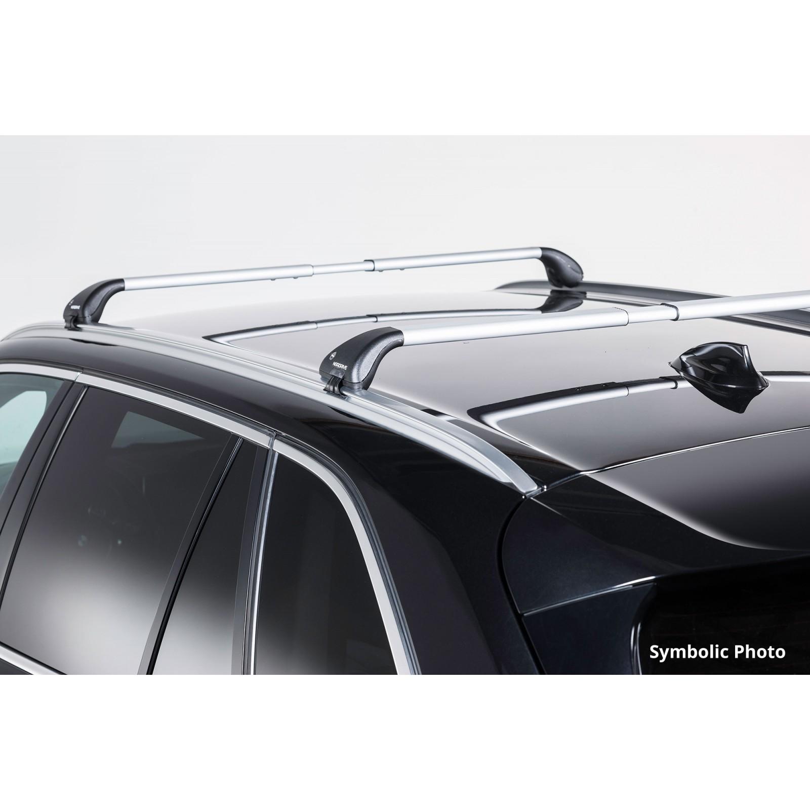 barres de toit en aluminium pour toyota rav4. Black Bedroom Furniture Sets. Home Design Ideas