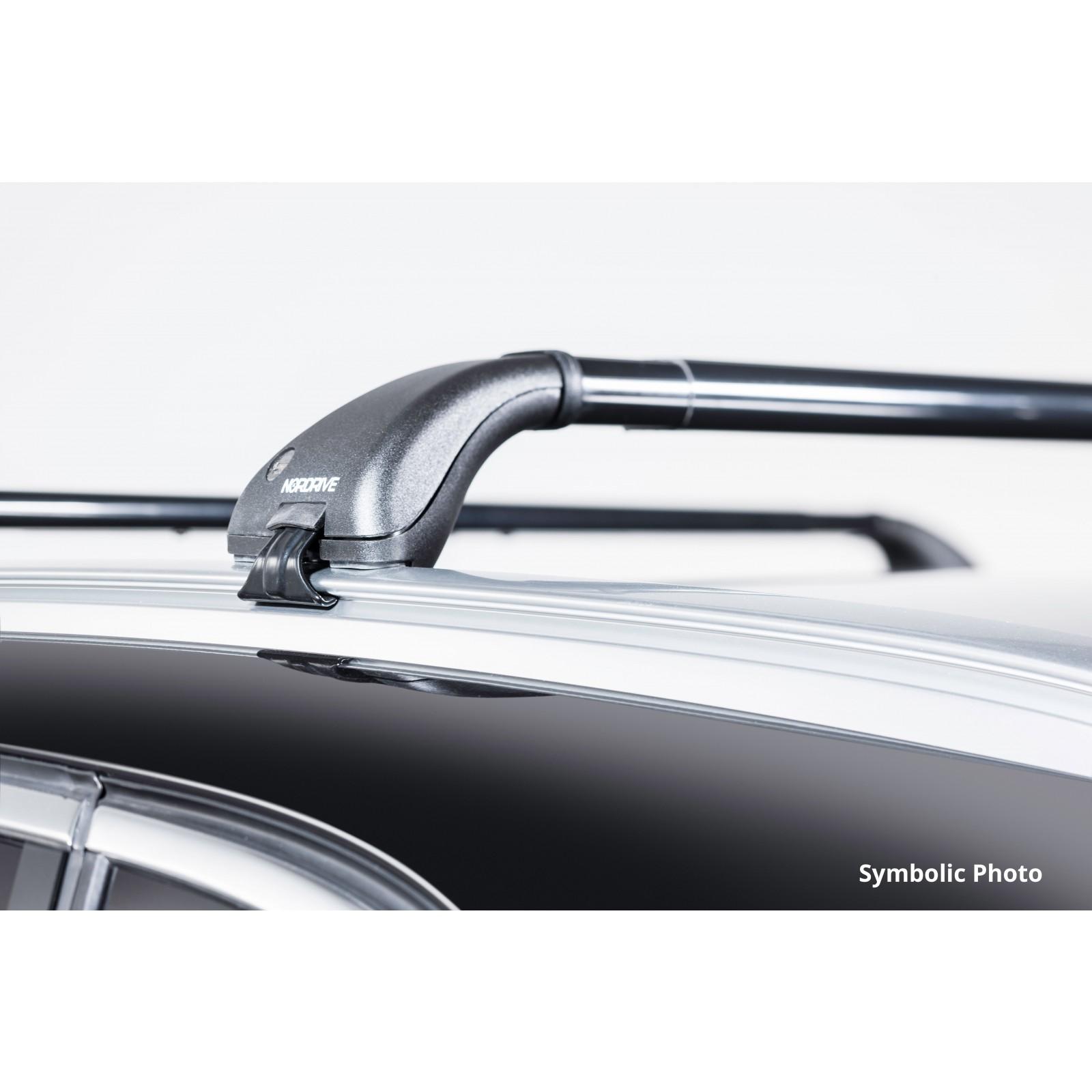 barres de toit en acier pour ford focus wagon ford. Black Bedroom Furniture Sets. Home Design Ideas