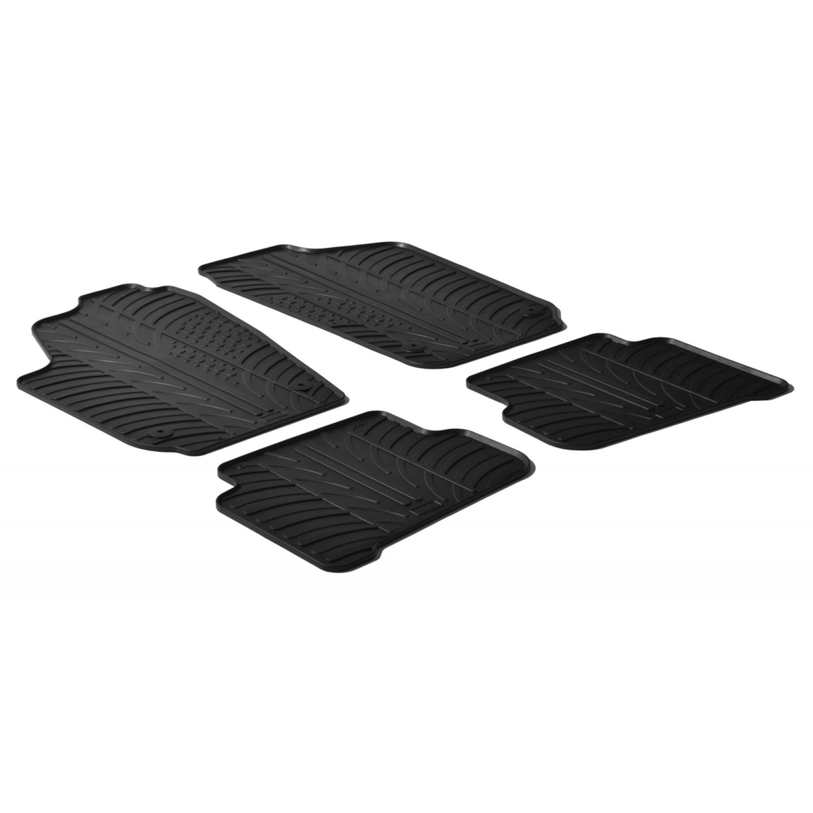 tapis en caoutchouc pour volkswagen polo. Black Bedroom Furniture Sets. Home Design Ideas