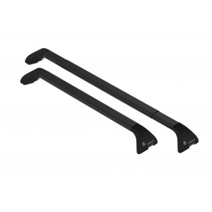 Barres de toit en acier pour Opel Zafira Tourer (black rails)