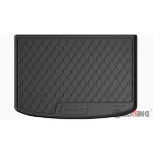 Tapis de coffre en caoutchouc pour Audi A1 (3 portes/Sportback)