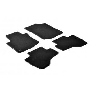 Tapis en textile pour Citroen C1