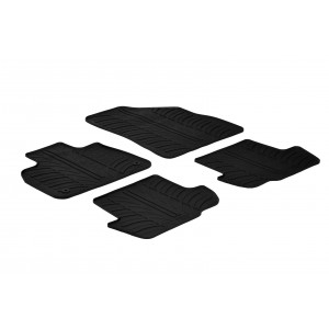 Tapis en caoutchouc pour Citroen DS5