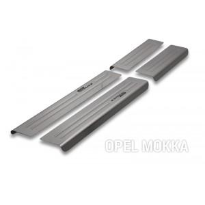 Protection des seuils de portes pour Opel Mokka (X)