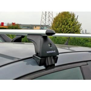 Barres de toit pour Mazda 2 sans rail