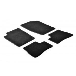 Tapis en textile pour Peugeot 206+