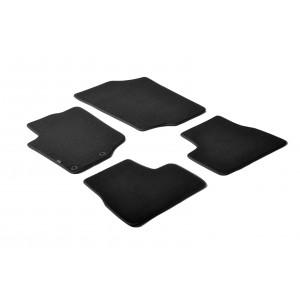 Tapis en textile pour Peugeot 207