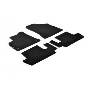 Tapis en textile pour Peugeot 3008
