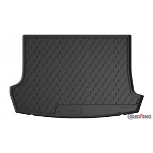 Tapis de coffre en caoutchouc pour VW T-Roc (sol élevé variable)