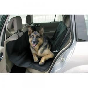 Housse protection banquette arrière pour chien