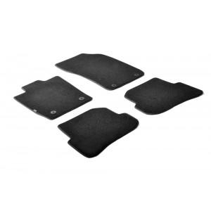 Tapis en textile pour Audi A1 (3 & 5 portes/Sportback)
