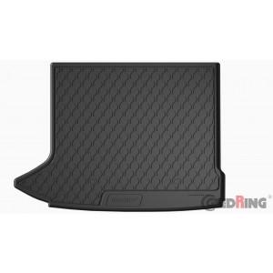 Tapis de coffre en caoutchouc pour Audi Q3 (8MU/sol élevé, extension gauche sans filet)