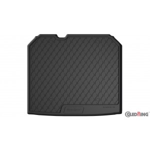 Tapis de coffre en caoutchouc pour Audi Q3 (sol élevé