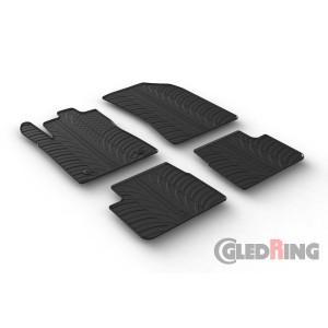 Tapis en caoutchouc pour Citroen C3/DS3 (5 portes)