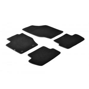 Tapis en textile pour Citroen C4