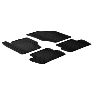 Tapis en caoutchouc pour Citroen C4/DS4 (5 portes)