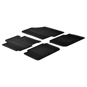 Tapis en caoutchouc pour Hyundai Elantra (4 portes)