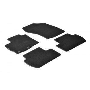 Tapis en textile pour Peugeot 4007