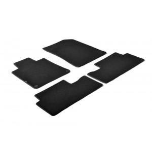 Tapis en textile pour Peugeot 508